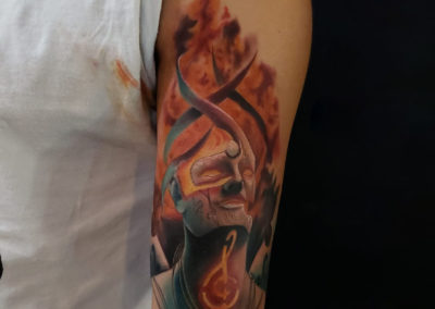 Guillermo Barros - Triom Tattoo Studio
